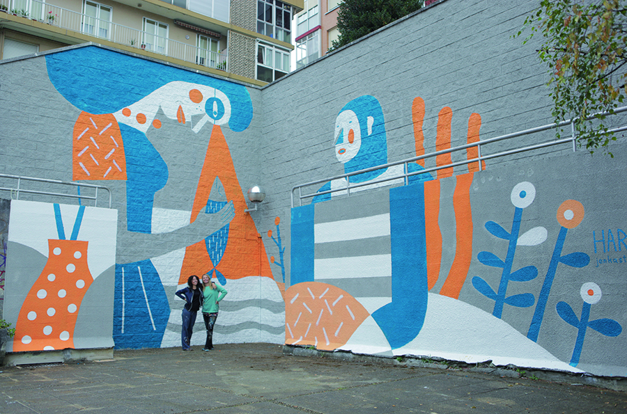 Harsa Pati Mural