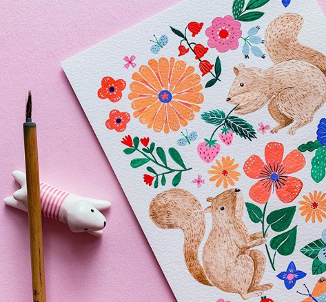 Coco Gigi Design Ilustraciones Animales