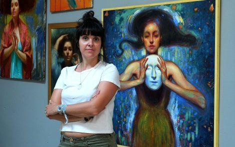 Isabel Garmon, pintando la naturaleza humana (incluye podcast)