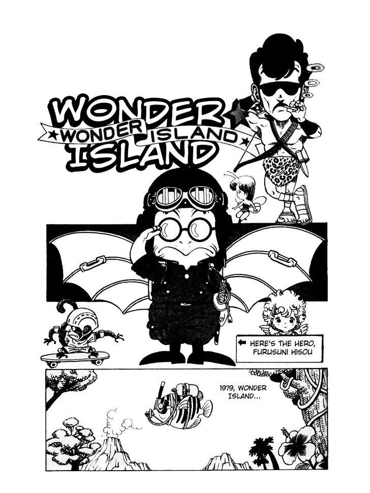 Wonder Island Akira Toriyama