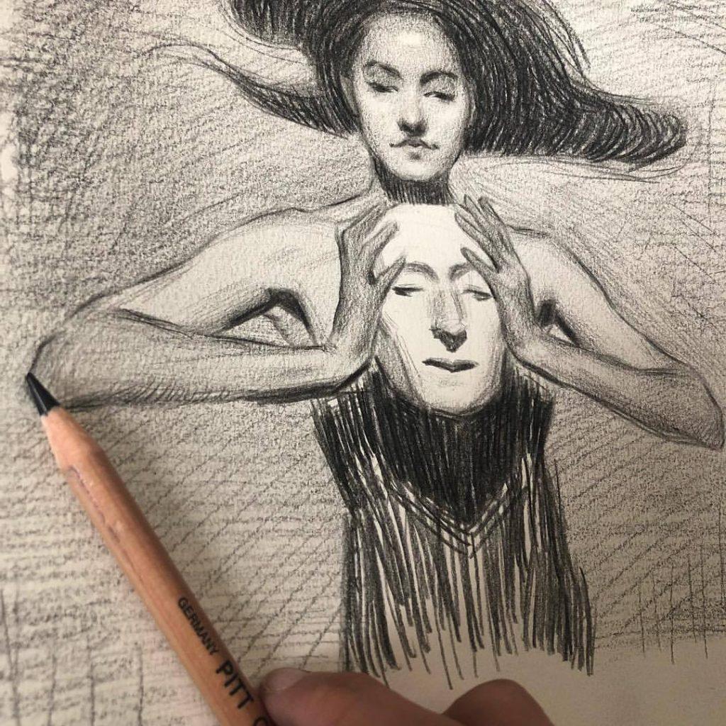 Boceto Isabel Garmon