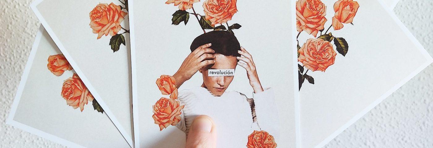 Los collages kistch de Electric Girl