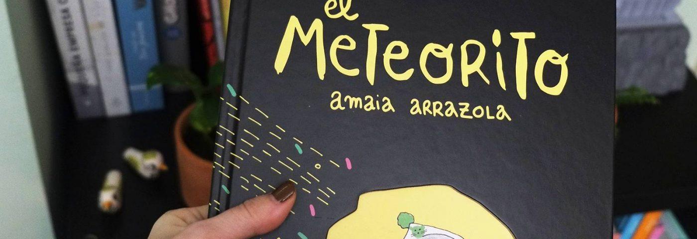"""Amaia Arranzola y """"El Meteorito"""", su libro ilustrado sobre embarazo, parto y crianza"""