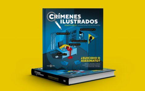 Crímenes ilustrados, de Modesto García y Javi de Castro: de tuit viral a libro