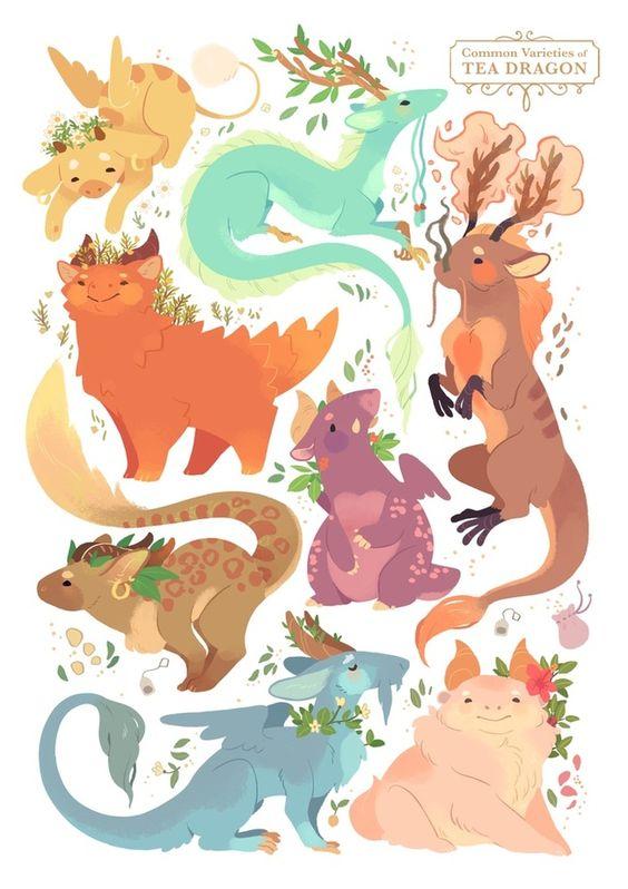 dragones del te