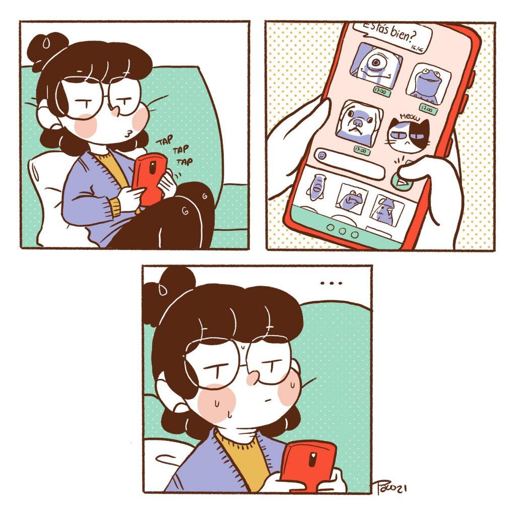 Paula Chesire comic