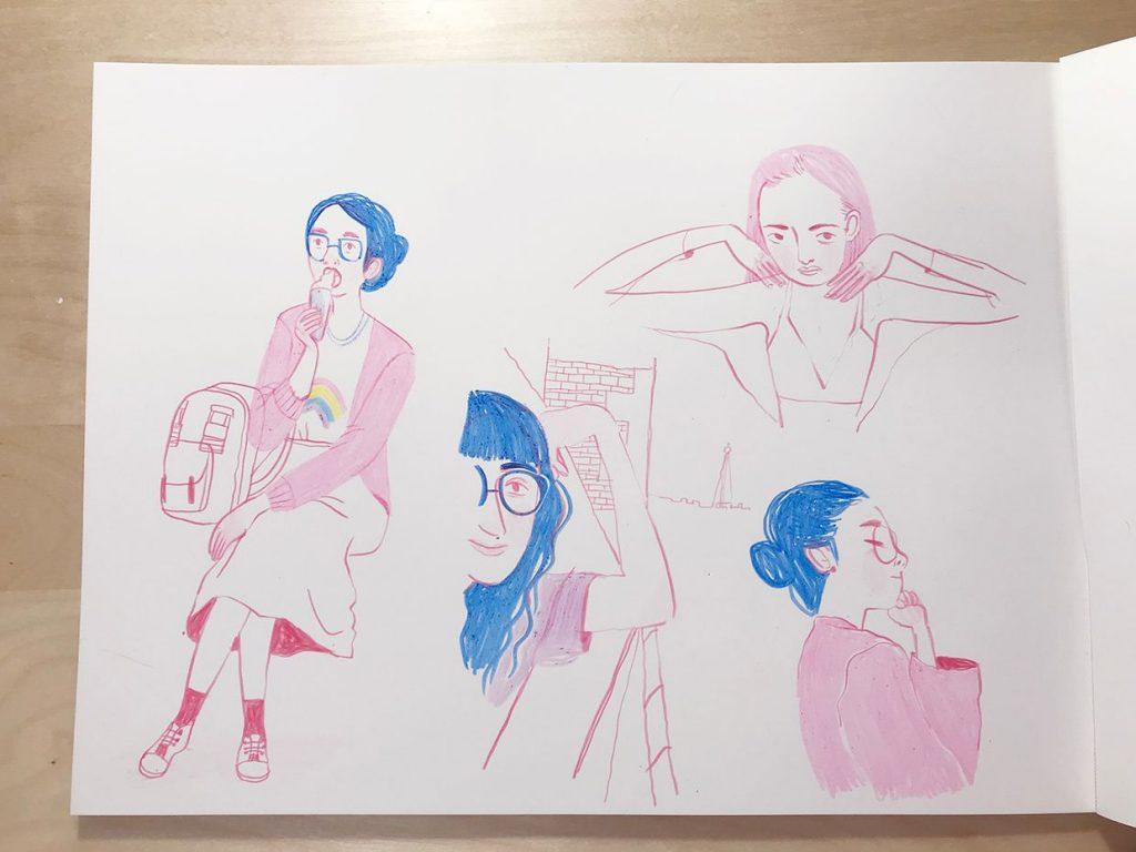 Sketchbook Frannerd