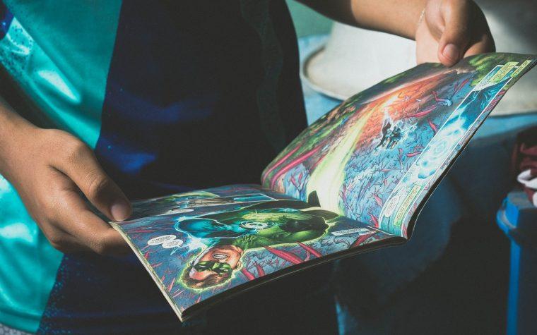 dibujante de comics